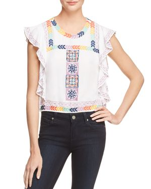 Banjara Flutter Sleeve Top