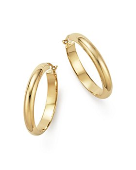 Bloomingdale's - 14K Yellow Gold Large Hoop Earrings - 100% Exclusive