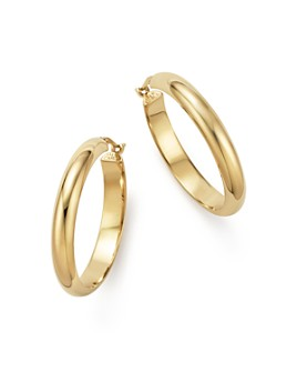 Bloomingdale's - 14K Yellow Gold Large Hoop Earrings - 100% Exclusive