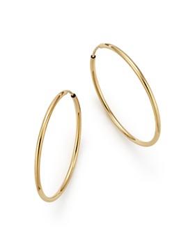 c11d2c6710548 14k Gold Hoop Earrings - Bloomingdale's