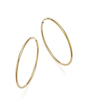 Bloomingdale's 14K Yellow Gold Endless Hoop Earrings - 100% Exclusive