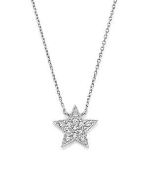 Dana Rebecca Designs Diamond Julianne Himiko Star Necklace in 14K White Gold, 16