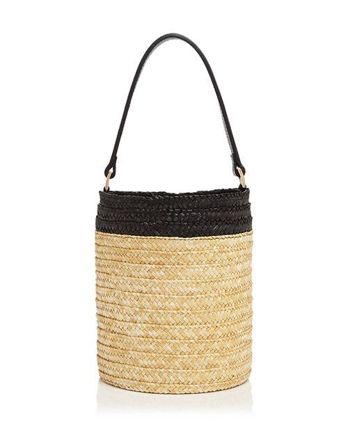 Caterina Bertini - Small Straw Bucket Bag