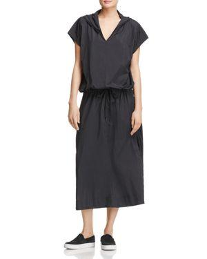 Dkny Pure Hooded Maxi Dress