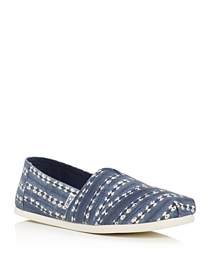Toms Men's Seasonal Classic Batik Stripe Slip Ons
