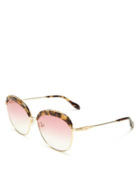 Sonix - Women's Birdie Round Sunglasses, 60mm