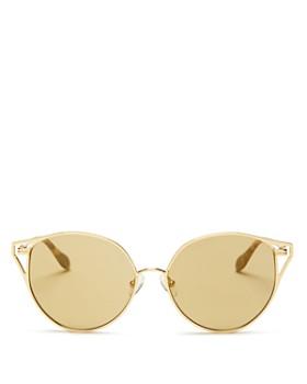 Sonix - Women's Ibiza Mirrored Cat Eye Sunglasses, 55mm