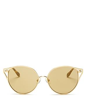 Sonix Ibiza Mirrored Cat Eye Sunglasses, 55mm