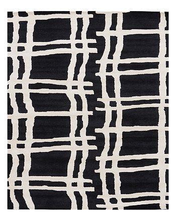kate spade new york - Broken Plaid Gramercy Area Rug, 5' x 8'