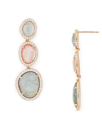 Nadri - Stone Linear Earrings - 100% Exclusive