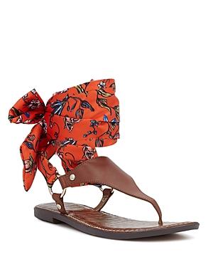 Sam Edelman Giliana Ankle Wrap Thong Sandals