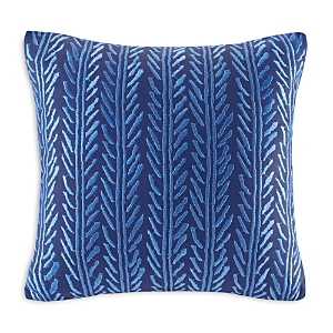 Echo Shibori Decorative Pillow, 18 x 18