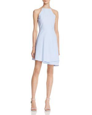 Joa Folded Skirt Fit-and-Flare Dress