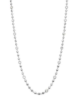 Ippolita Sterling Silver Rock Candy Long Multi Stone Necklace in Clear Quartz, 40