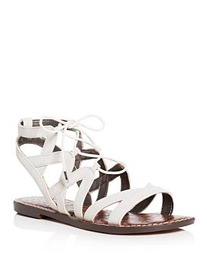 Sam Edelman Gemma Caged Lace Up Sandals