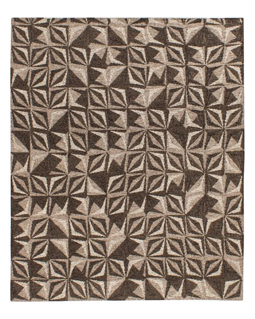 Lillian August - Samoa Collection Area Rug, 5' x 8' - Gray/Silver
