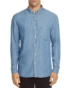 Rails - Denim Vintage Wash Slim Fit Button-Down Shirt