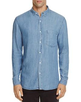 Rails - Denim Vintage Wash Slim Fit Button-Down Shirt