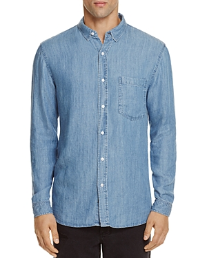 Rails Denim Vintage Wash Slim Fit Button-Down Shirt-Men