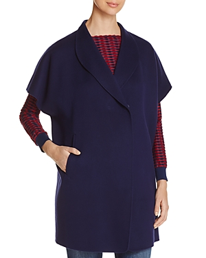 Armani Collezioni Cap-Sleeve Coat