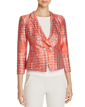 Armani Collezioni - Abstract-Print Jacket