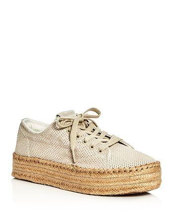 Tretorn - Women's Eve Lace Up Platform Espadrille Sneakers