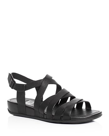 FitFlop - Women's Lumy Crisscross Demi Wedge Sandals