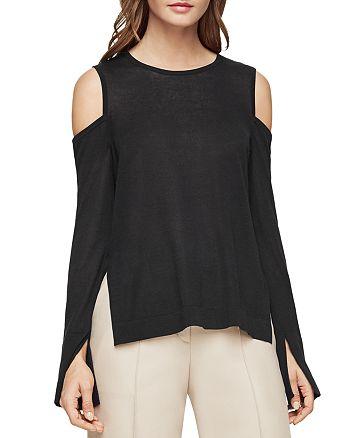 8f3fa0e96fb8c BCBGMAXAZRIA - Anita Cold-Shoulder Sweater