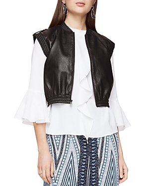 Bcbgmaxazria Ace Faux-Leather Vest
