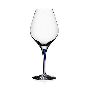 Orrefors Intermezzo Blue Aroma Red Wine Glass