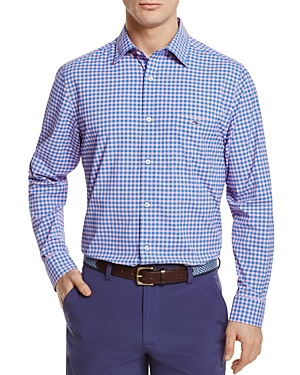 Vineyard Vines Fishlock Gingham Classic Fit Button-Down Shirt