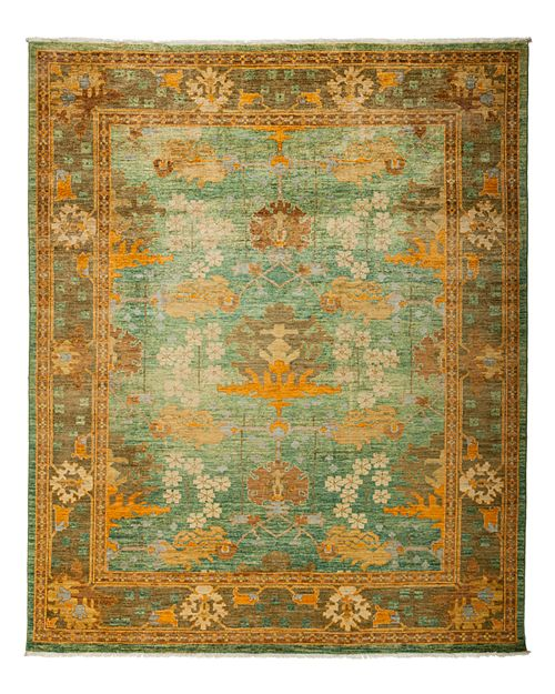 """Solo Rugs - Arts and Crafts Area Rug, 8' x 9'7"""""""