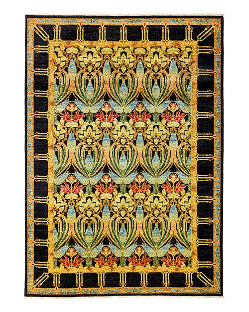 "Solo Rugs - Arts and Crafts Area Rug, 6'4"" x 8'10"""