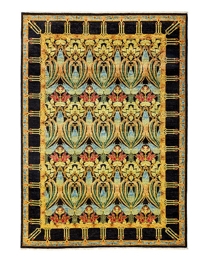 """Solo Rugs - Arts and Crafts Area Rug, 6'4"""" x 8'10"""""""