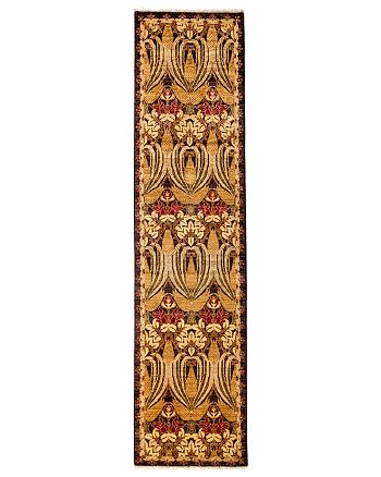 """Solo Rugs - Arts and Crafts Runner Rug, 2'5"""" x 9'9"""""""
