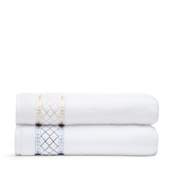 $Peter Reed Large Diamonds Towel Collection - 100% Exclusive - Bloomingdale's