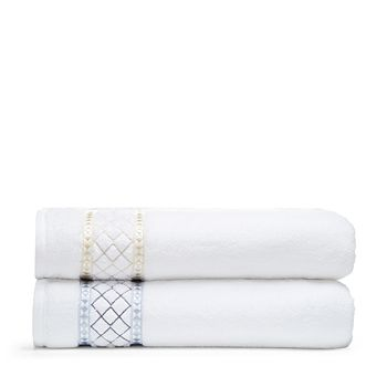 Peter Reed - Large Diamonds Bath Towel - 100% Exclusive