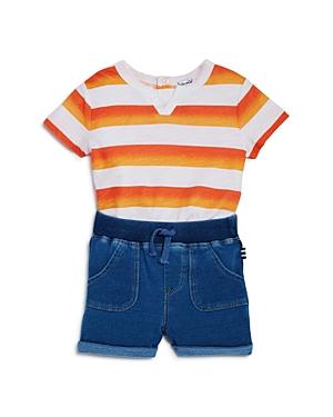 Splendid Boys' Ombre Stripe Tee & Shorts Set - Baby