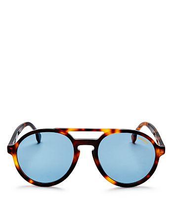 4533796d0704d Carrera - Men s Double Bridge Round Aviator Sunglasses