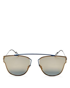 Dior Homme Mirrored Square Sunglasses, 50mm