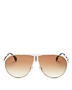 Carrera - Men's Aviator Shield Sunglasses, 70mm