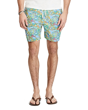 Polo Ralph Lauren Traveler Paisley Swim Trunks