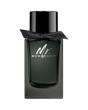 Introducing Mr. Burberry Eau de Parfum. An intense interpretation of the original Mr. Burberry, the fragrance captures the essence and anticipation of London at night. A warm, sensual and woody scent with fresh and aromatic top notes of tarragon and comforting, spicy cinnamon, layered delicately on rich patchouli with a base of amber and smokey vetiver. The bottle honors the black Heritage Trench Coat and its signature design details. Bold and masculine, the weighted cap references horn-look but