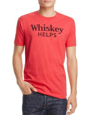 KID DANGEROUS WHISKEY HELPS GRAPHIC TEE