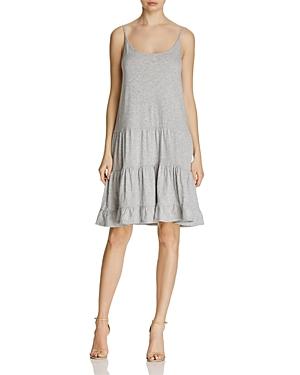 Velvet by Graham & Spencer Sascha Ruffle Knit Slip Dress
