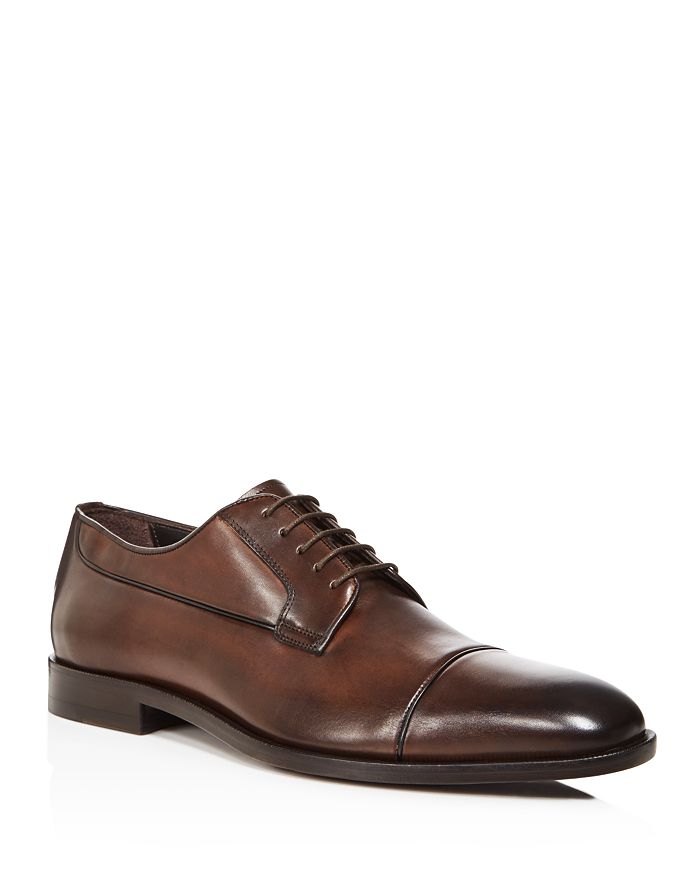 Canali - Men's Stock Cap Toe Derby Shoes