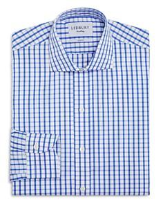 Ledbury - Box Check Slim Fit Dress Shirt