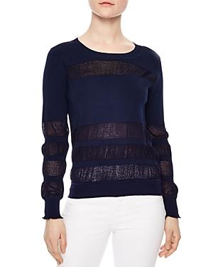 Sandro Vera Openwork Sweater