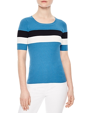 Sandro Mailys Striped Sweater