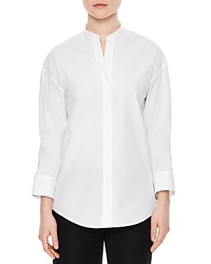 Sandro Crystal Poplin Shirt